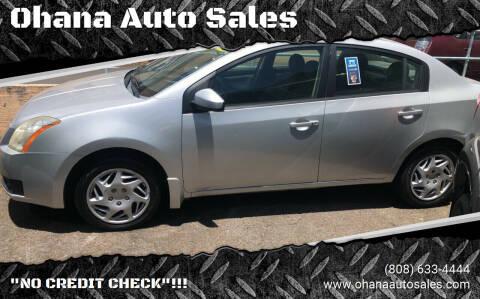 2007 Nissan Sentra for sale at Ohana Auto Sales in Wailuku HI