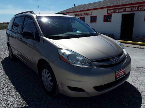 2006 Toyota Sienna for sale at Sarpy County Motors in Springfield NE