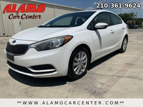 2014 Kia Forte for sale at Alamo Car Center in San Antonio TX