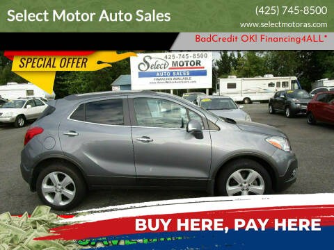 2014 Buick Encore for sale at Select Motor Auto Sales in Lynnwood WA