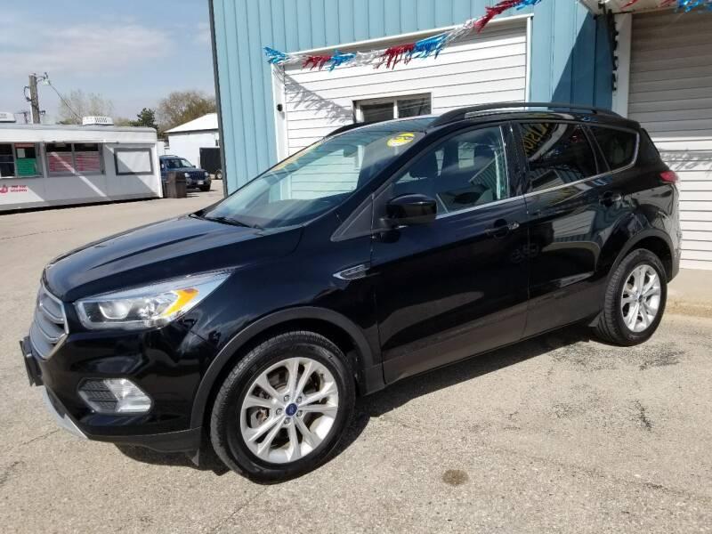 2017 Ford Escape for sale at CENTER AVENUE AUTO SALES in Brodhead WI