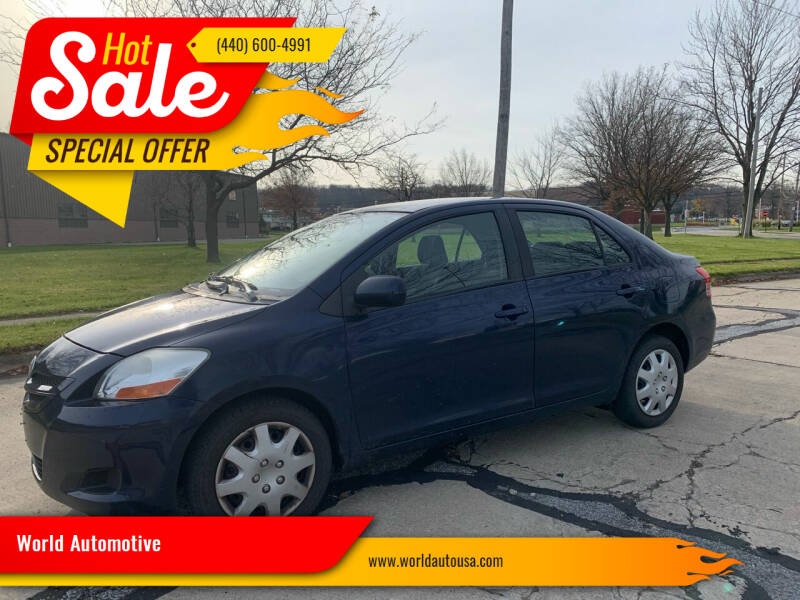 2007 Toyota Yaris for sale at World Automotive in Euclid OH