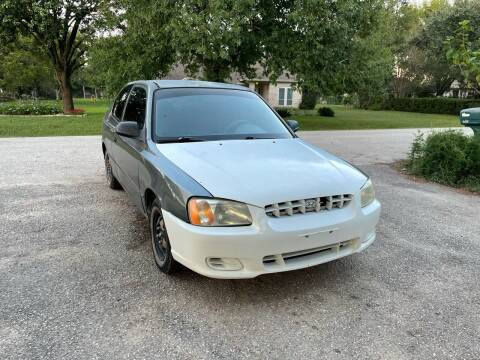 2001 Hyundai Accent for sale at CARWIN MOTORS in Katy TX