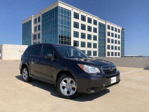 2014 Subaru Forester for sale at SIGNATURE Sales & Consignment in Austin TX