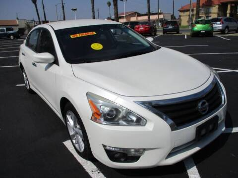 2015 Nissan Altima for sale at F & A Car Sales Inc in Ontario CA