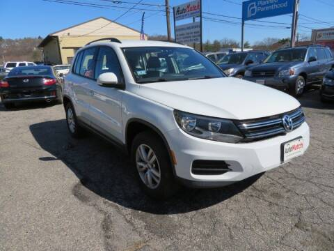 2016 Volkswagen Tiguan for sale at Auto Match in Waterbury CT