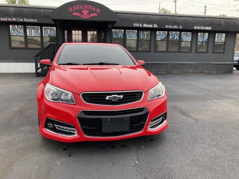 2014 Chevrolet SS for sale at Savannah Motors in Belleville IL
