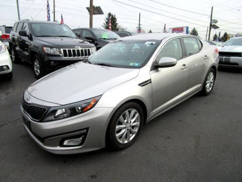 2015 Kia Optima for sale at American Auto Group Now in Maple Shade NJ