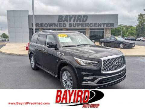 2020 Infiniti QX80 for sale at Bayird Truck Center in Paragould AR