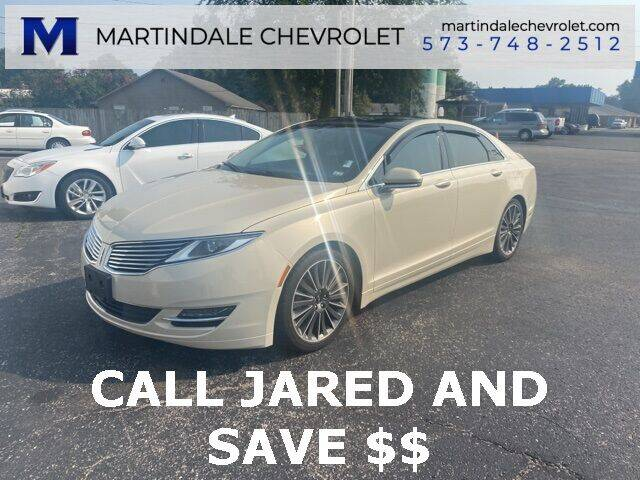 2015 Lincoln MKZ Hybrid for sale at MARTINDALE CHEVROLET in New Madrid MO