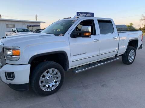 2019 GMC Sierra 2500HD for sale at Keller Motors in Palco KS