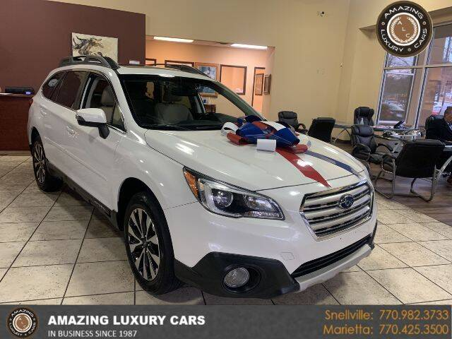 2016 Subaru Outback for sale at Amazing Luxury Cars in Snellville GA