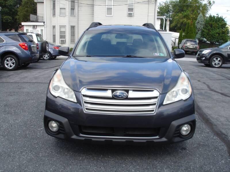 2013 Subaru Outback for sale at Pete's Bridge Street Motors in New Cumberland PA