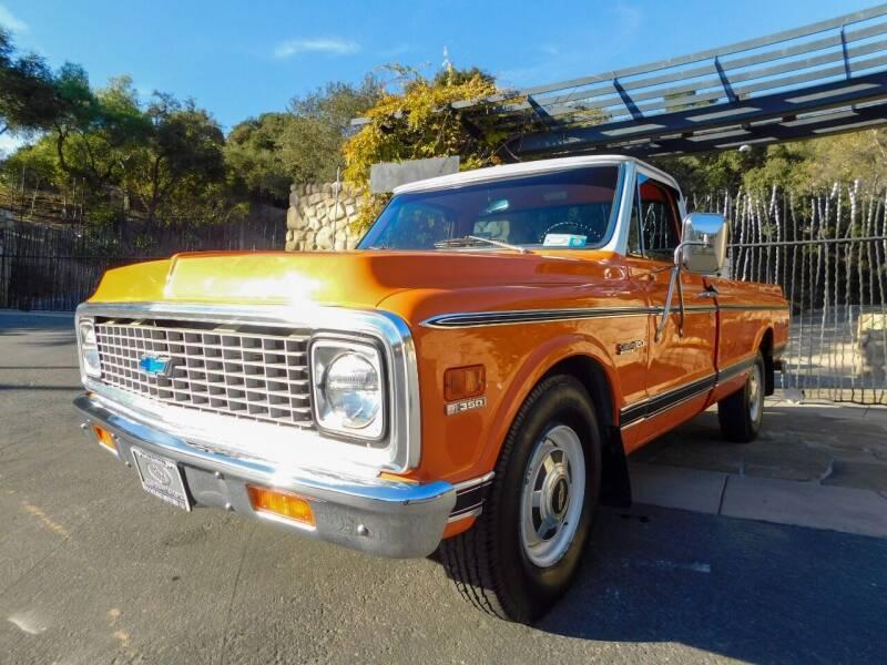 1971 Chevrolet C/K 20 Series for sale at Milpas Motors in Santa Barbara CA