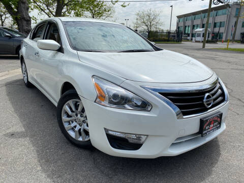 2015 Nissan Altima for sale at JerseyMotorsInc.com in Teterboro NJ