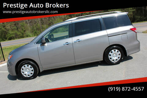 2012 Nissan Quest for sale at Prestige Auto Brokers in Raleigh NC