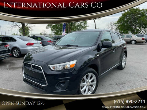 2015 Mitsubishi Outlander Sport for sale at International Cars Co in Murfreesboro TN