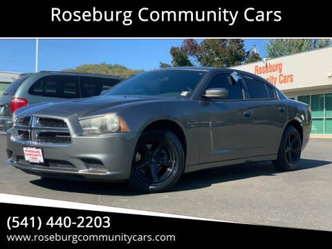 2011 Dodge Charger for sale at Roseburg Community Cars in Roseburg OR