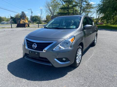 2019 Nissan Versa for sale at M4 Motorsports in Kutztown PA