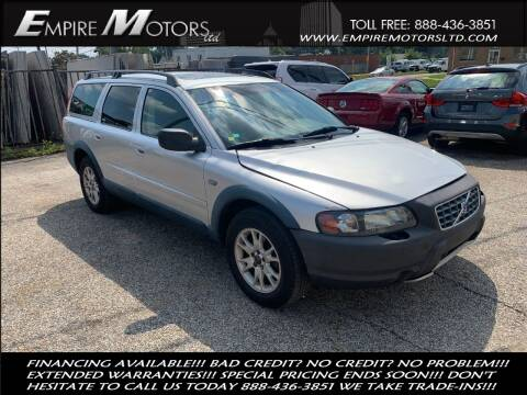 2004 Volvo XC70 for sale at Empire Motors LTD in Cleveland OH