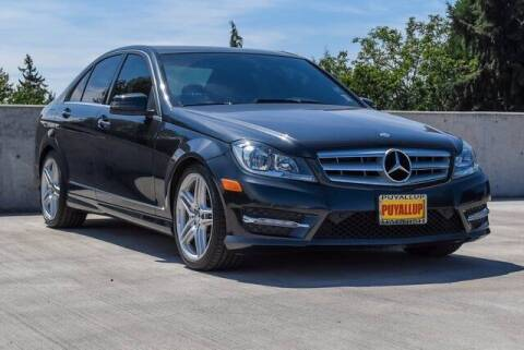2013 Mercedes-Benz C-Class for sale at Washington Auto Credit in Puyallup WA
