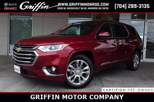 2018 Chevrolet Traverse for sale at Griffin Buick GMC in Monroe NC