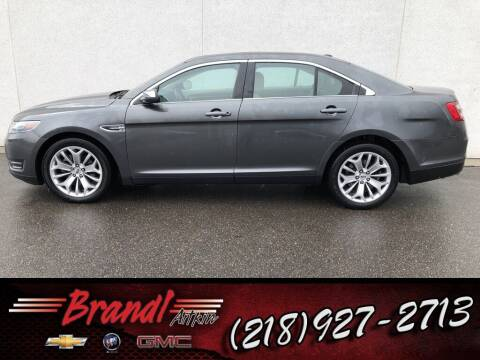 2019 Ford Taurus for sale at Brandl GM in Aitkin MN