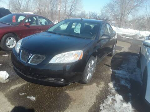 2008 Pontiac G6 for sale at BARNES AUTO SALES in Mandan ND