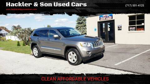 2012 Jeep Grand Cherokee for sale at Hackler & Son Used Cars in Red Lion PA