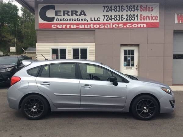 2016 Subaru Impreza for sale at Cerra Automotive LLC in Greensburg PA