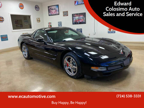 1999 Chevrolet Corvette for sale at Edward Colosimo Auto Sales and Service in Evans City PA