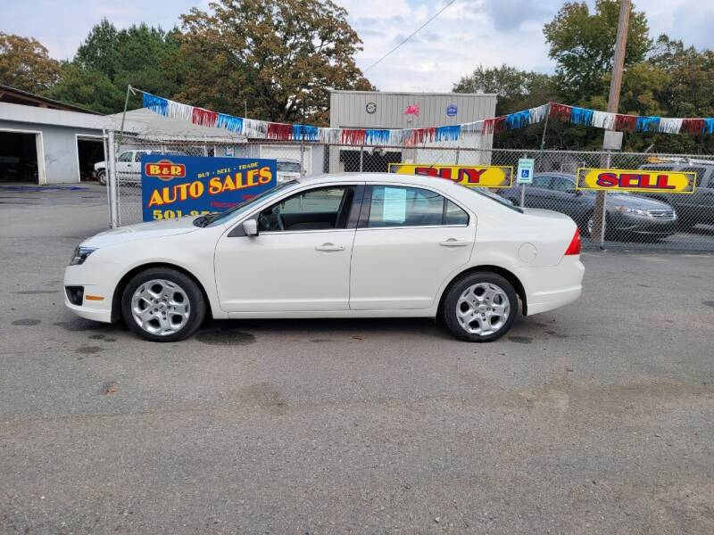2010 Ford Fusion SE 4dr Sedan - N Little Rock AR