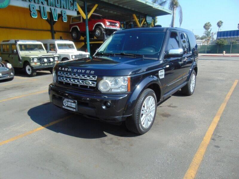 2012 Land Rover LR4 for sale at Santa Monica Suvs in Santa Monica CA