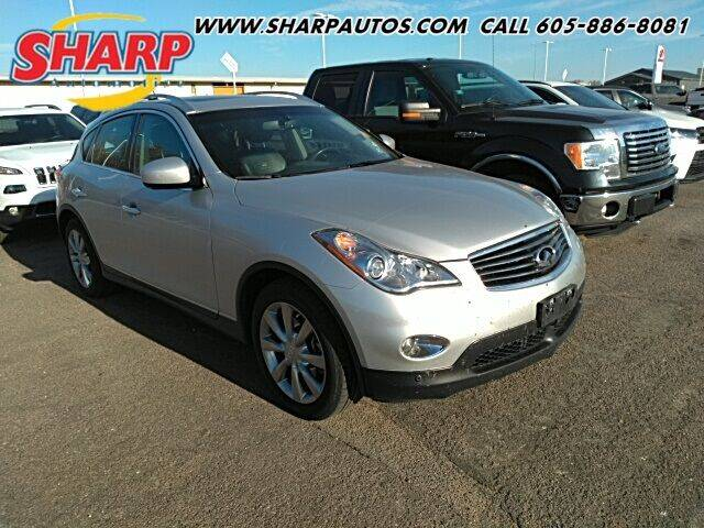 2011 Infiniti EX35 for sale at Sharp Automotive in Watertown SD