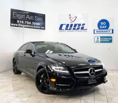 2012 Mercedes-Benz CLS for sale at Elegant Auto Sales in Rancho Cordova CA