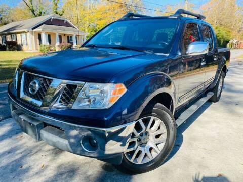 2010 Nissan Frontier for sale at E-Z Auto Finance in Marietta GA