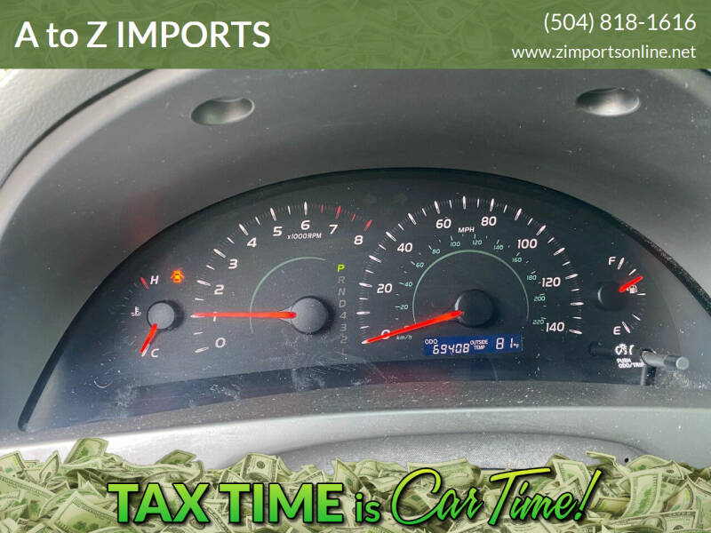 2009 Toyota Camry for sale at A to Z IMPORTS in Metairie LA