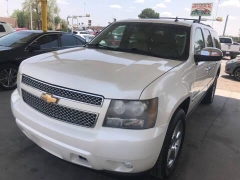 2011 Chevrolet Suburban for sale at Fiesta Motors Inc in Las Cruces NM