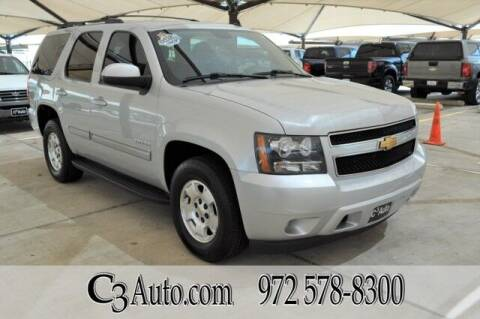 2013 Chevrolet Tahoe for sale at C3Auto.com in Plano TX