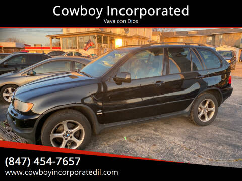 2001 BMW X5 for sale at Cowboy Incorporated in Waukegan IL