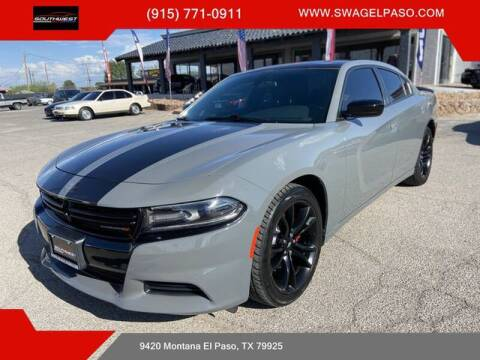 2018 Dodge Charger for sale at SOUTHWEST AUTO GROUP-EL PASO in El Paso TX