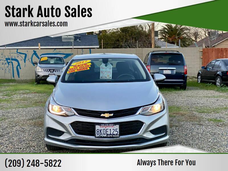 2017 Chevrolet Cruze for sale at Stark Auto Sales in Modesto CA