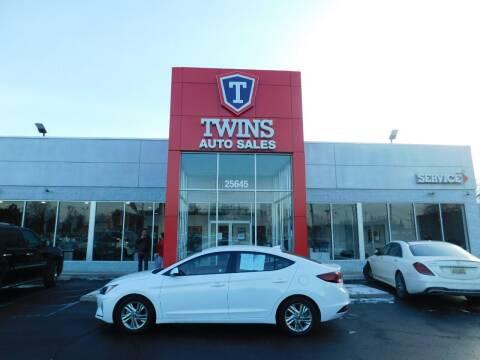 2019 Hyundai Elantra for sale at Twins Auto Sales Inc Redford 1 in Redford MI