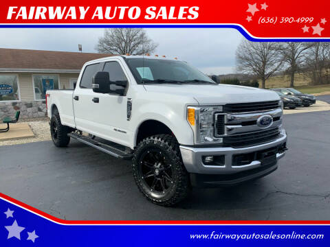 2017 Ford F-350 Super Duty for sale at FAIRWAY AUTO SALES in Washington MO