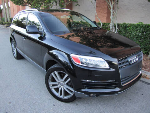 2007 Audi Q7 for sale at FLORIDACARSTOGO in West Palm Beach FL