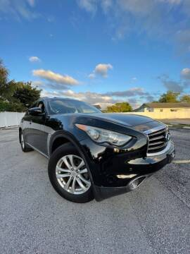 2012 Infiniti FX35 for sale at Easy Finance Motors in West Park FL