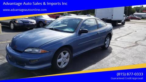 1997 Chevrolet Cavalier for sale at Advantage Auto Sales & Imports Inc in Loves Park IL