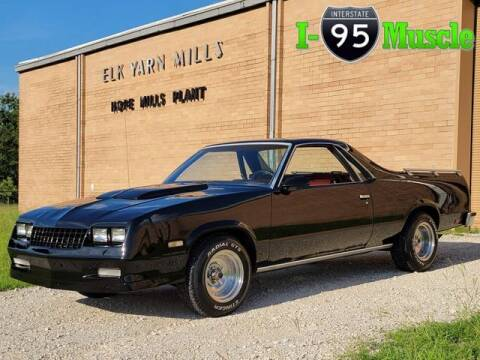 1986 Chevrolet El Camino for sale at I-95 Muscle in Hope Mills NC