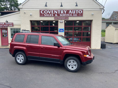 2014 Jeep Patriot for sale at COVENTRY AUTO SALES in Coventry CT