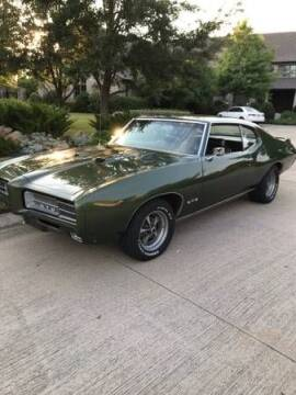 1969 Pontiac GTO for sale at Classic Car Deals in Cadillac MI